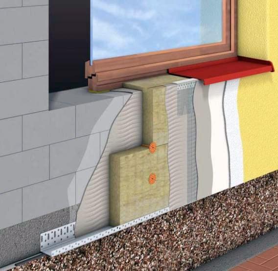 Утеплення фасадів мінватою